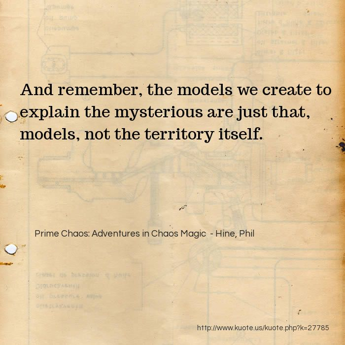 Kuote us! :: My Quotes in Prime Chaos: Adventures in Chaos Magic