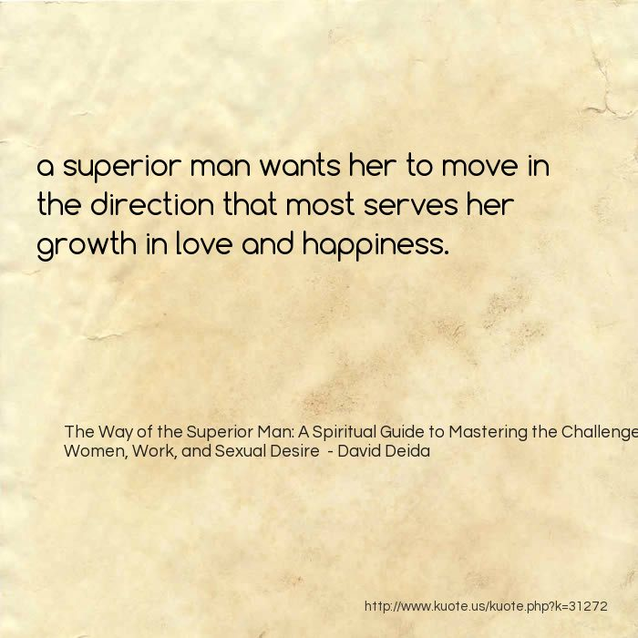 Kuote Us Share 31272 The Way Of The Superior Man A Spiritual